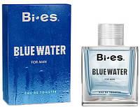 Туалетна вода для чоловіків Bi-es Blue Water Davidoff - Cool water 100 мл (5902734840165)