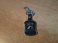 Брелок на ключи Peugeot (Пежо) Кожаный