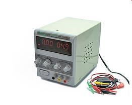 Лабораторний блок живлення Baku BK-1502D+ 2А