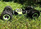 Машинка-перевертыш Leopard - вездеход ЗЕЛЕНЫЙ   Машинка для трюков на радиоуправлении, фото 4