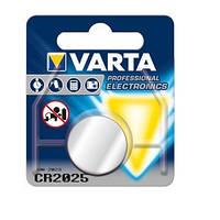 Батарейка VARTA CR 2025 BLI 1 LITHIUM ш.к. 4008496276875