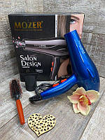 Фен для сушки волос Mozer MZ-5927, 4000W + расческа для укладки
