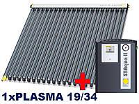 Paradigma-PLASMA 19/34,1-3 человека.Покатая крыша, керамическая черепица