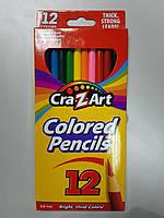 Цветные карандаши  Cra-Z-Art  - 12 цветов