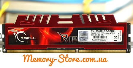 Оперативная память G.Skill DDR3 4Gb PC3-10600 1333MHz (б/у), фото 2