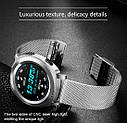 Смарт-часы Smart Watch Microwear L2 silver metal English, фото 3