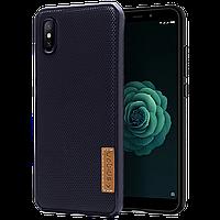 Силиконовый чехол SPIGEN GRID Samsung A50/A50s темно-синий
