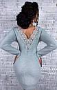 Платье ангора с гипюровыми вставками на спине, фото 8