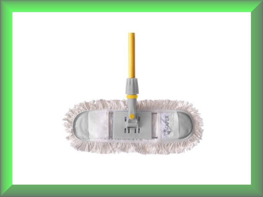 Швабра для сухой уборки хлопок 60см Fratelli 10826