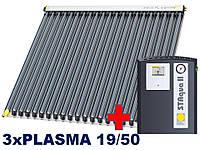Paradigma-3xPLASMA 19/50, 13-15 человек.Покатая крыша, керамическая черепица