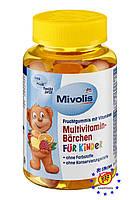 Жевательные мультивитамины для детей Mivolis 120г