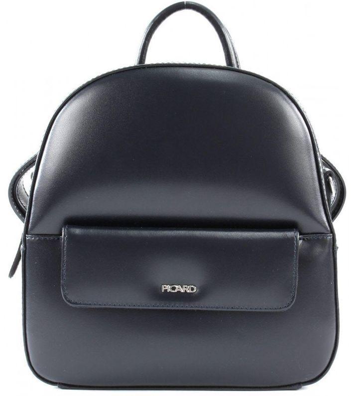 Женский кожаный рюкзак Picard Berlin 4 л, синий