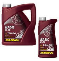 Трансмиссионное синтетическое масло MANNOL Basic PLUS Getriebeoel 75W-90 4л.
