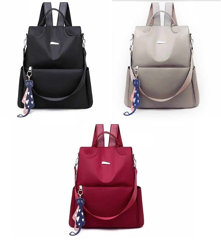 Рюкзак антивор со скрытой молнией с наружными карманами сумка через плечо