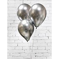 Шары воздушные хром серебро 1573 (120-89)