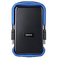Внешний жесткий диск (HDD накопитель) Apacer AC631 1TB USB 3.1 (AP1TBAC631U-1) Blue