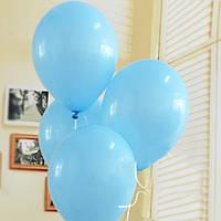 """Шарики воздушные пастель голубой 10"""" (25 см) Gemar 90-09 1601"""