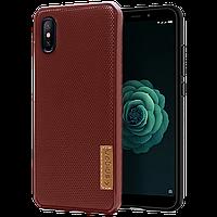 Силиконовый чехол SPIGEN GRID Samsung A10s коричневый