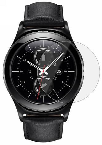 Захисне скло NZY для смарт-годинника Samsung Gear S2 2.5D Прозоре (001757), фото 2