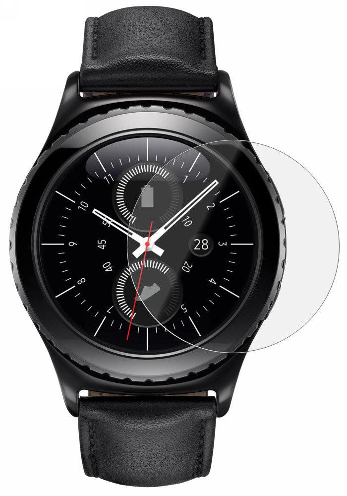 Захисне скло NZY для смарт-годинника Samsung Gear S2 2.5D Прозоре (001757)