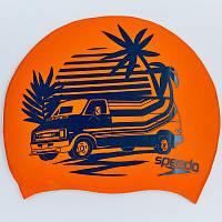 Шапочка для плавання SPEEDO SLOGAN PRINT 808385C859