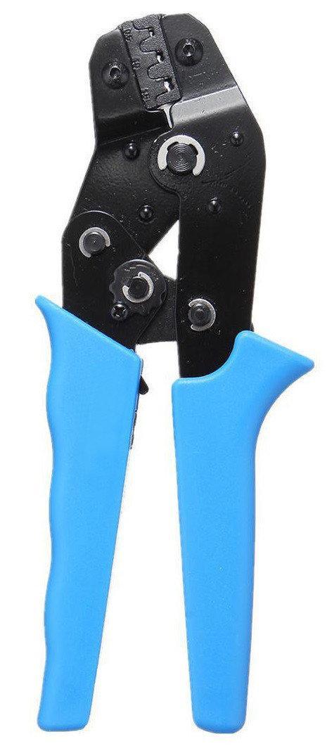 Прес-кліщі для обпресування кабельних наконечників клем HLV 5-15 см