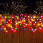 "[ОПТ] Уличная светодиодная новогодняя гирлянда Icicle ""Бахрома"" с мерцанием 100LED, 3 метра., фото 2"