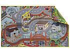 """Двосторонній ігровий килимок """"Село-Місто"""" для дерев'яної залізниці PlayTive Junior Німеччина, фото 2"""