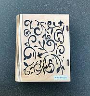 Подарочная коробка из дерева в виде книги 230х190х58мм
