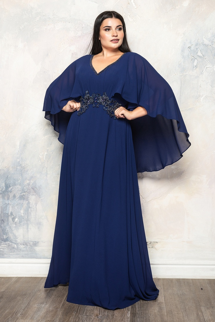 Роскошное вечернее женское длинное платье  с 50 по 56 размер