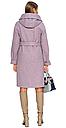 Пальто демисезонное женское NIO Collection Лора Сиреневый, пальто женское джени, фото 2