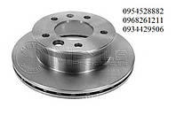 Тормозной диск задний (258х12мм) 1995-2006 VW LT 28-35 \ Mersedes Sprinter 208-416 MEYLE (Германия) 0155232035