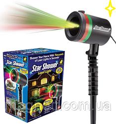 Лазерний проектор Зоряний дощ / Star Shower Laser Light (точковий)