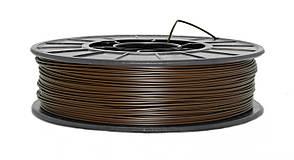 Нить PLA (ПЛА) пластик для 3D печати, Коричневый (1.75 мм/0.75 кг)