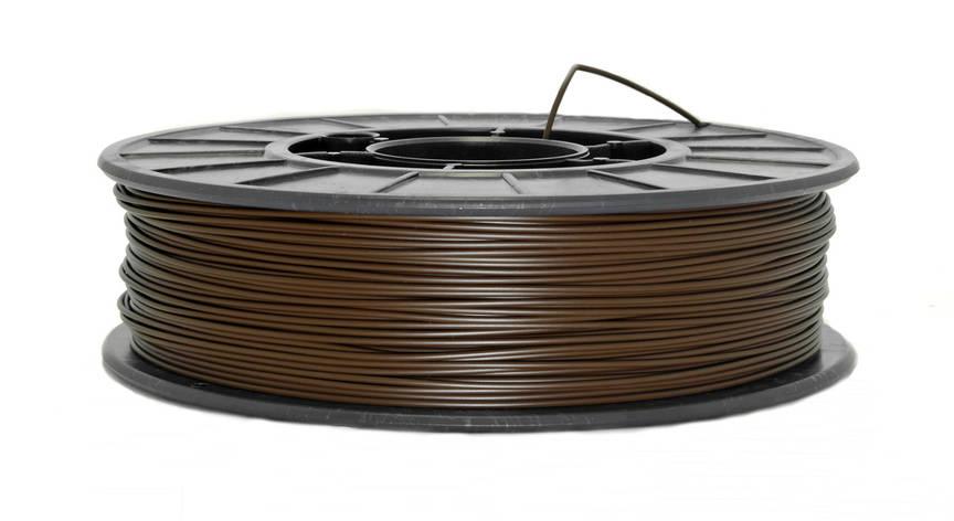 Нить PLA (ПЛА) пластик для 3D печати, Коричневый (1.75 мм/0.75 кг), фото 2