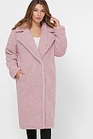 Шубка женская искусственная стильная розовая PL-8841-15