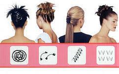 Заколки Хэагами, Hairagami, набор заколок хэагами, hairagami beauty hair, фото 2