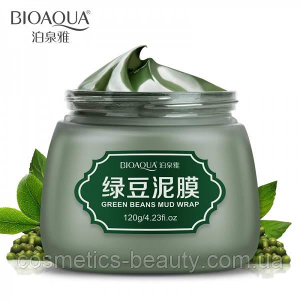 Грязевая маска с зелеными бобами BioAqua Green Beans Mud Mask,120g