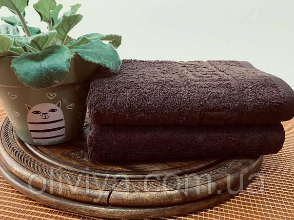 Полотенце для бани (т. кофе), фото 2