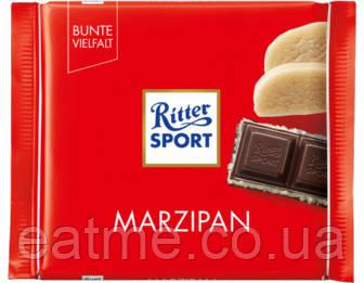 Ritter Sport Чёрный шоколад с марципановой начинкой