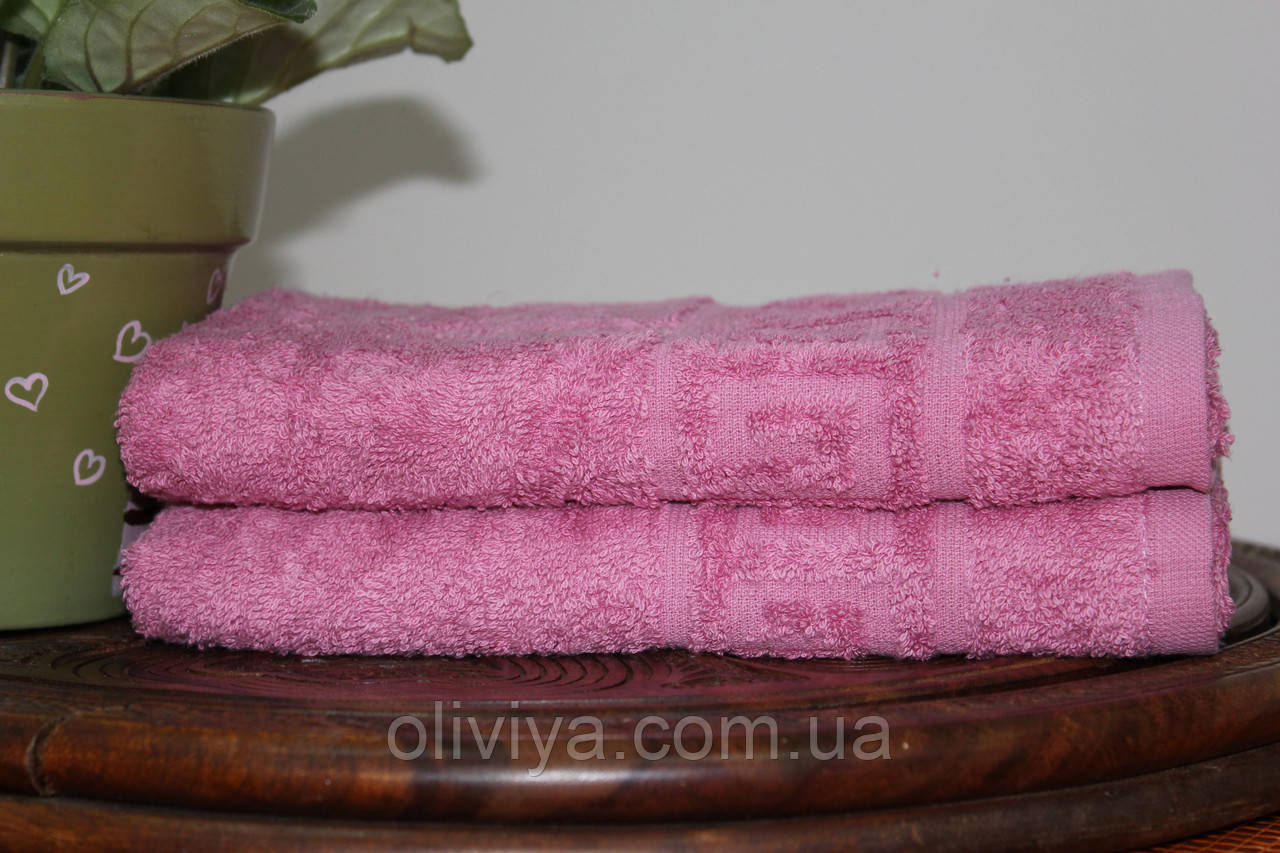 Полотенце для бани (т. розовый)