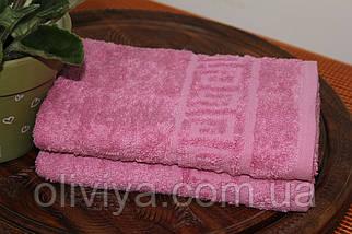 Полотенце для бани (т. розовый), фото 2