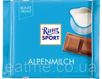 Ritter Sport Молочный шоколад 30% какао
