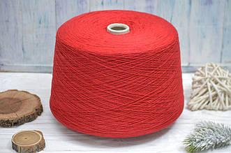 Италия New Mill Кашемир\Шерсть\Вискоза\ПА, Красный, 50гр\350м