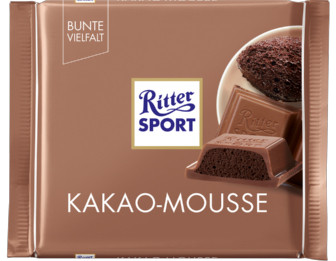 Ritter Sport Молочный шоколад с начинкой какао-мусс