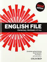 English File 3rd Edition Elementary: Workbook, фото 1