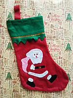 Новогодний носок для подарков и декора