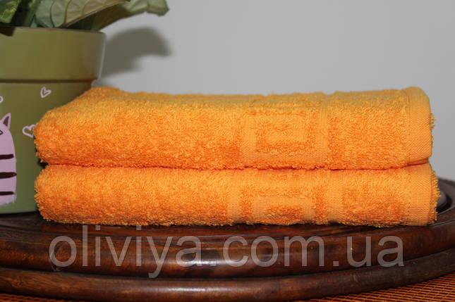 Полотенце для бани (оранжевый), фото 2