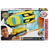 Бамблби 2в1 бластер - Bumblebee 2in1 Blaster, Rid,1-Step, Hasbro - 207681