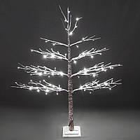 LED дерево в снегу 120см 108130